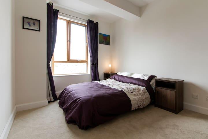 New Double Bed + Own Bathroom, Free Wifi, Tv area. - Castlebar - Apartamento