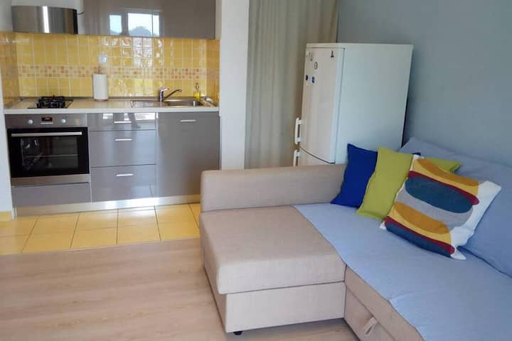 One bedroom apartment with balcony and sea view Sobra, Mljet (A-4936-a)