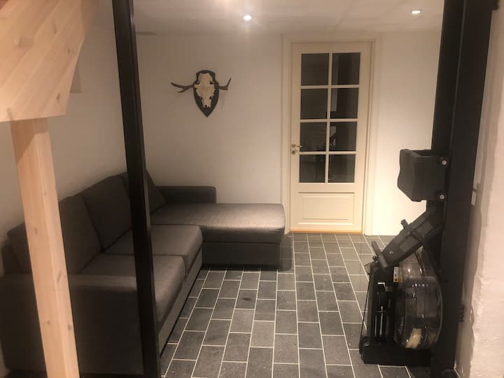 Room in villa by lake 15 min from Sthlm