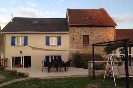Maison en montagne bourbonnaise - Le Mayet-de-Montagne - Haus