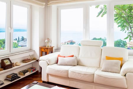 Elegant sunny apartment. Great location and views. - Opatija - Lejlighed