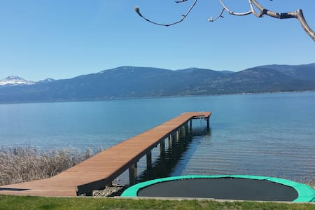 Lakefront Home For Rent - Vernon - House