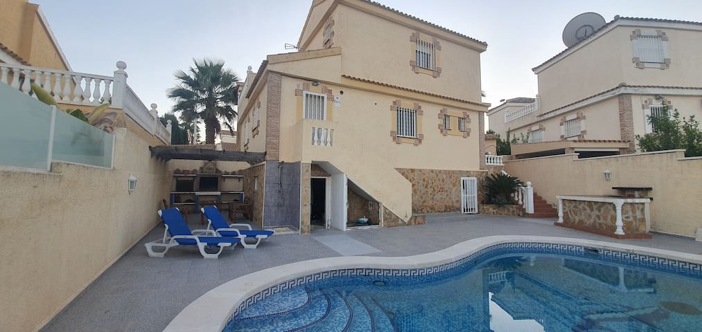 *VillaSol* ⭐️⭐️⭐️⭐️⭐️  Private Pool, Lounge & BBQ