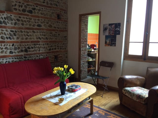 Gorgeous room, near train station and city center - Toulouse - Apartment
