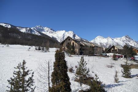 Appart fonctionnel à Serre Chevalier, vue montagne - Le Monêtier-les-Bains
