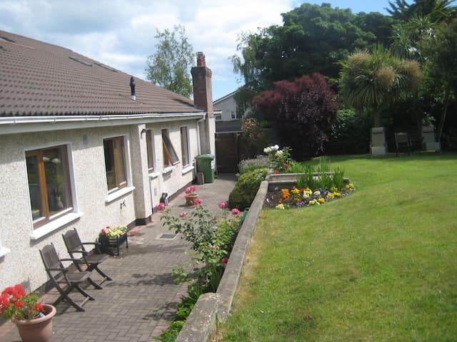 Sunny Southfacing garden