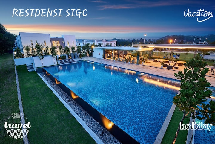 Seremban SIGC Family Resort Living Town House