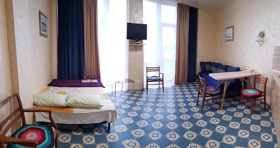Уютная квартира в Одессе около моря 16 ст.Фонтана