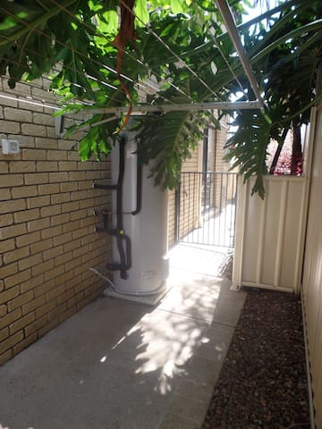 Private Granny Flat Court Yard - Looking Out View