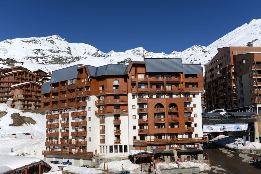 Val Thorens Town Centre 4 5 Person Apartment Apartments