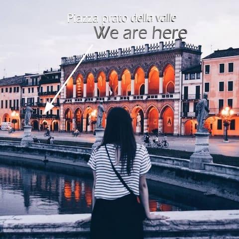 PADOVA CENTRO, PRATO DELLA VALLE,  FREE PARK WIFI