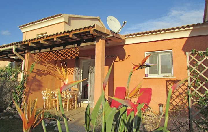 Beautiful home in Cervione with 1 Bedrooms