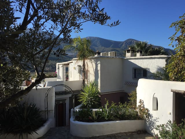 Alpujarras, Cortijo Quartero, zonnig huisje El Sol