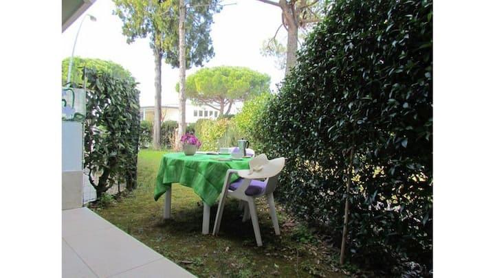 Casa a schiera con giardino privato per 6 persone