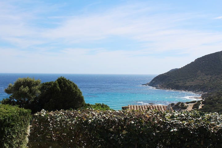 Villa sulla spiaggia Villasimius
