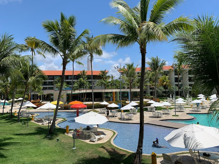 Flat Marulhos Resort Paraiso a Beira Mar by Direct