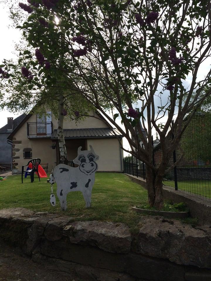 Maison de vacances au cœur des volcans