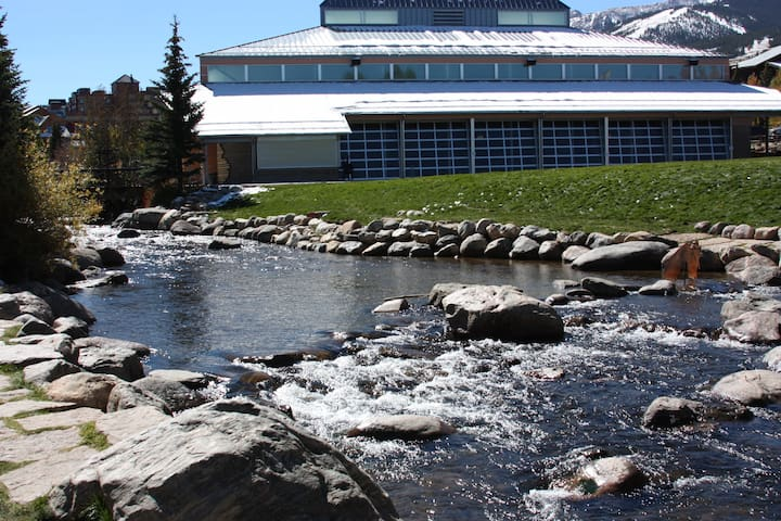 Blue River Runs by Events Center