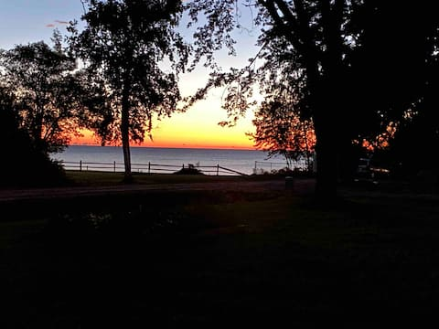 Lake House with a stunning view of Lake Huron
