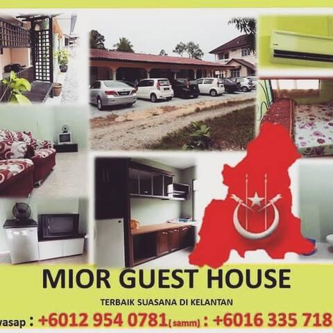 MiorGuestHouse, WakafBharu, Kelantan