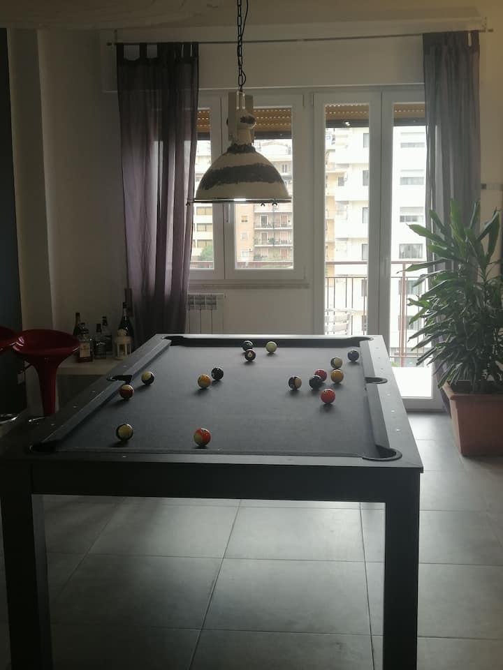 room pool Palermo apartment