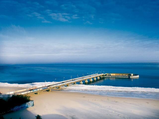 Sonnige NEUBAU  2- Zimmer Wohnung am Meer