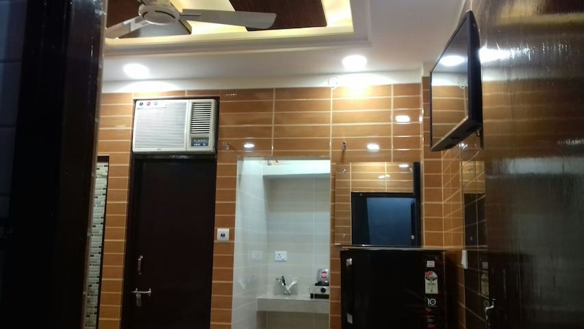 Posh, safe foreigner area lajpat ngar luxury room