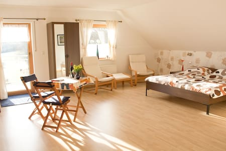 Nice spacious guestroom with balkony in Hunsrück - Beuren (Hochwald) - Bed & Breakfast