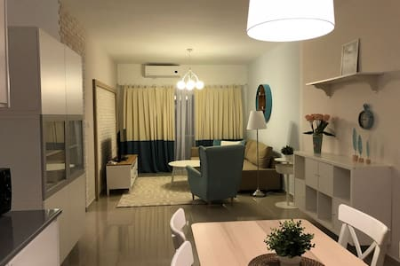 New apartment with a sea view in Caesar Resort 5*