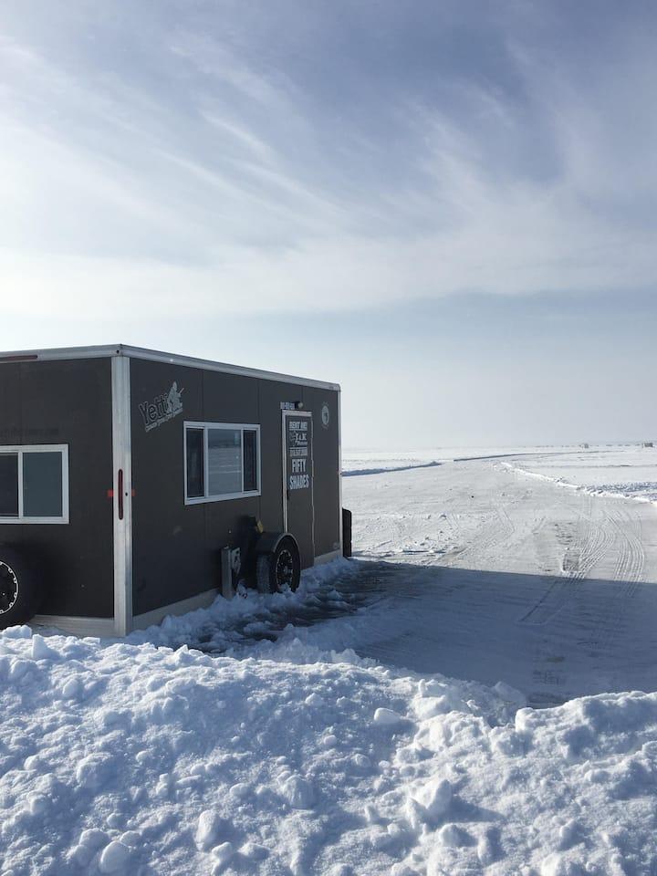 Yetti Fish House Rentals On Leech Lake