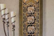 Olifantjes uit Thailand.