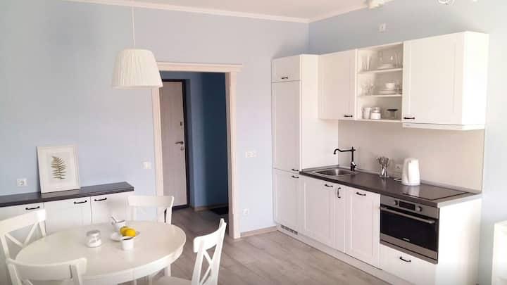 Elegant Apartment on Butlerova, 45m²
