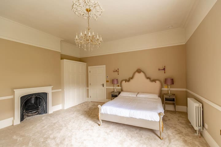 Our Luxury Wallis Suit with King sized bed and beautiful finishing touches