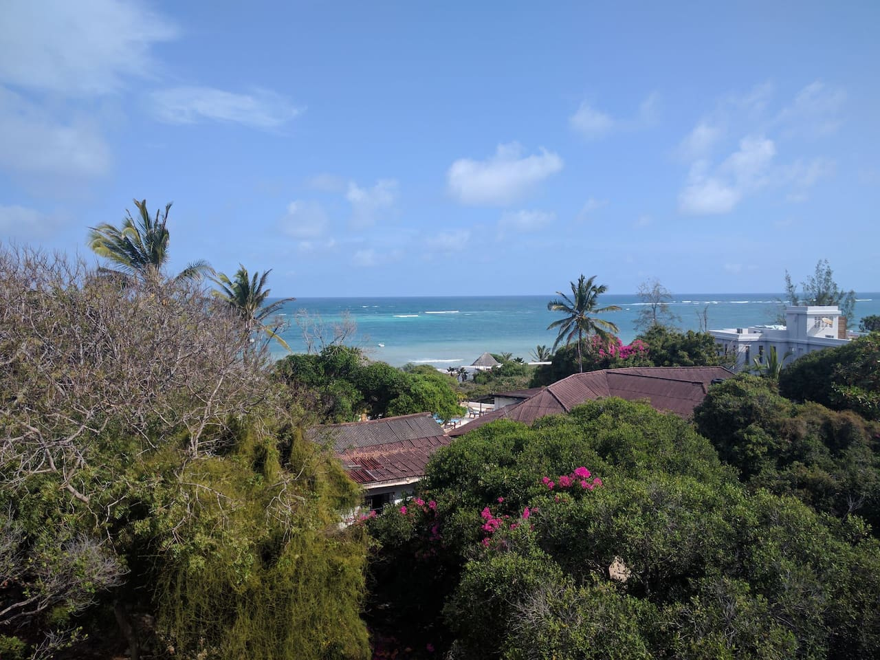 Sea View from the roof of kabi house