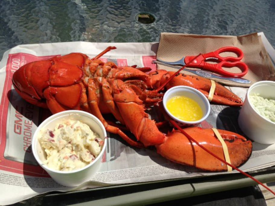 Lobster on the Beach - Available Seasonally
