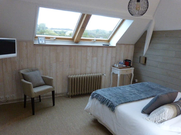 balneo-Double room-Romantic-Ensuite with Jet bath-Countryside view