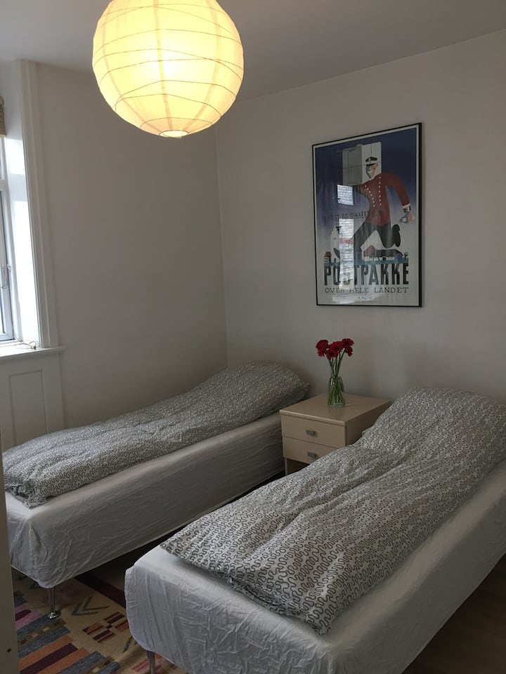 Cozy room in the Copenhagen zone one