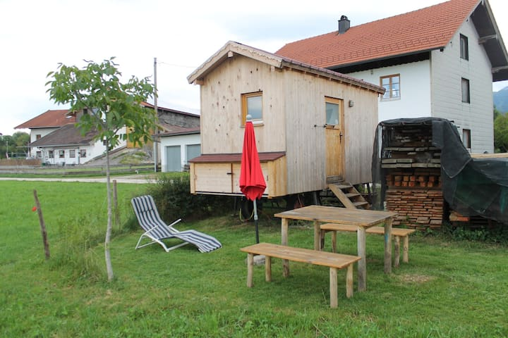 Tiny House auf dem Bauernhof