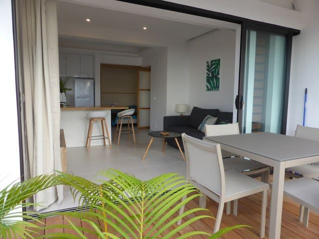 PUNAAUIA Appartement F2 avec vue imprenable