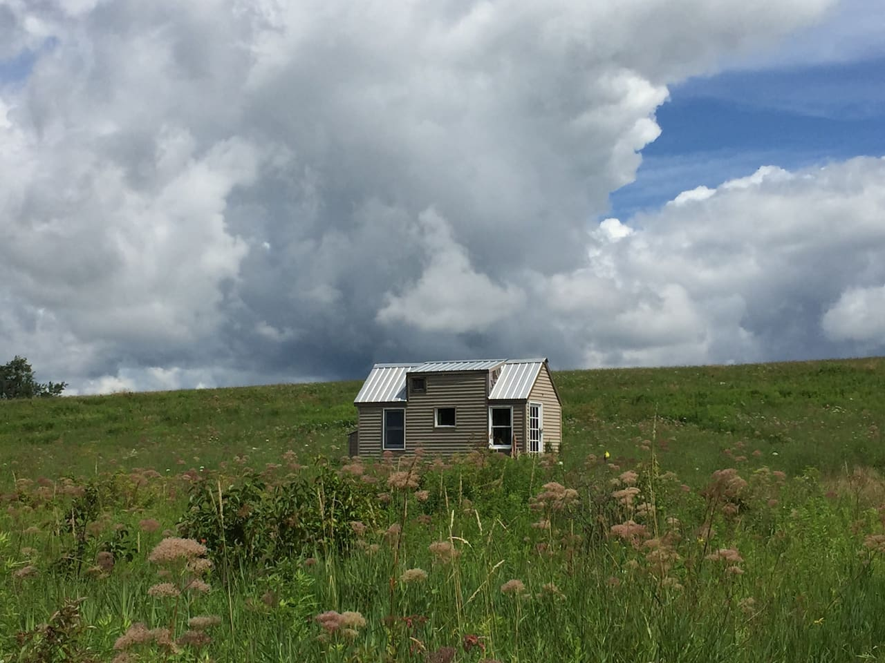 Tiny House on the hill.