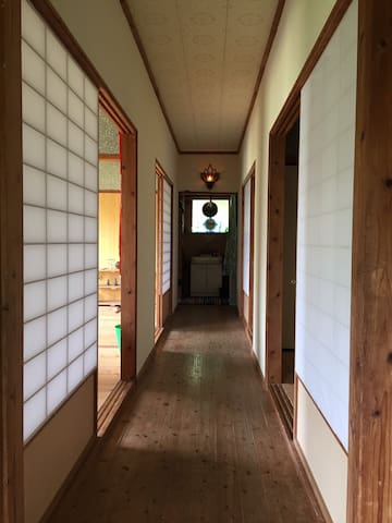 guest house.  neat Japanese style.
