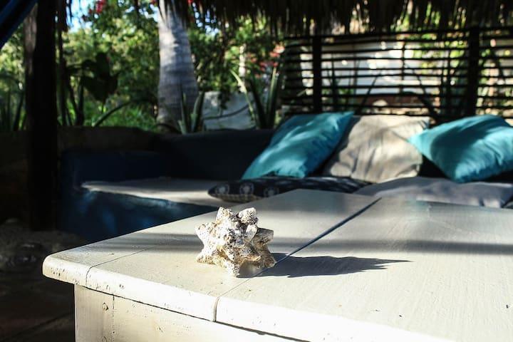 La Palma /Bungalow con cocina/ Playa Zipolite