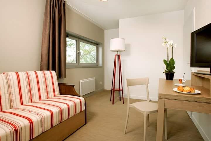 Studio 2 pers canapé lit Centre Ville de Quimper