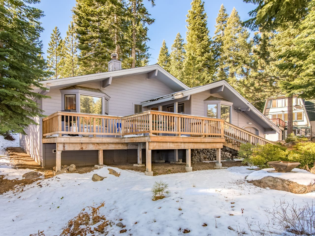 Welcome to your charming Lake Tahoe getaway. You're just minutes from the lake and nearby ski resorts.
