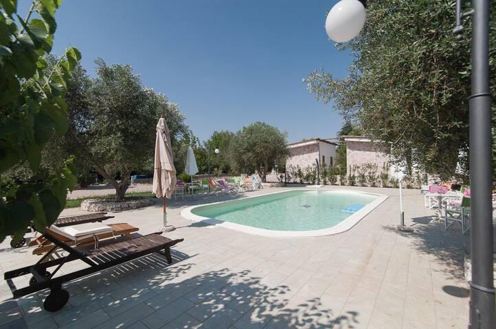 Abitazione in residence con piscina