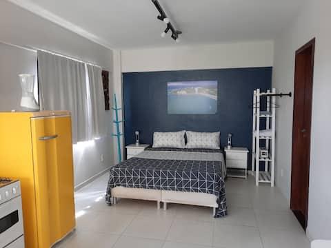 Studio em Ponta Negra, confortável e tranquilo