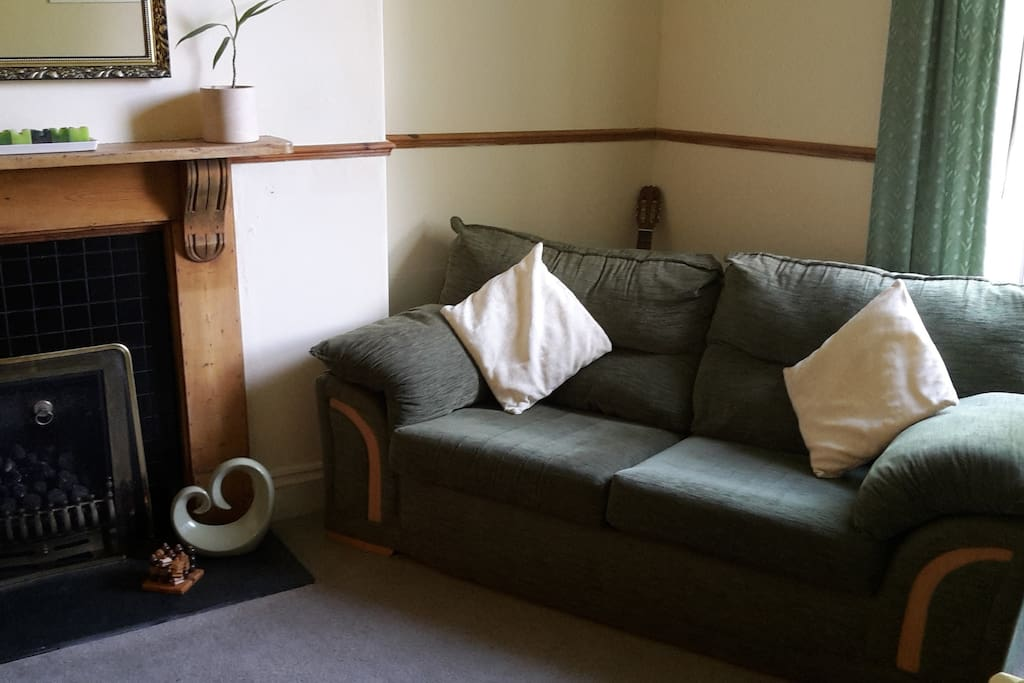 Cosy but bright sitting room