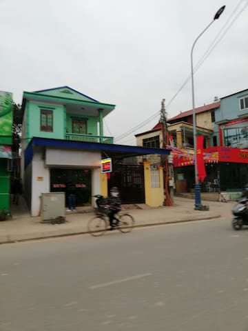 House for sale in Huynh Van Nghe street