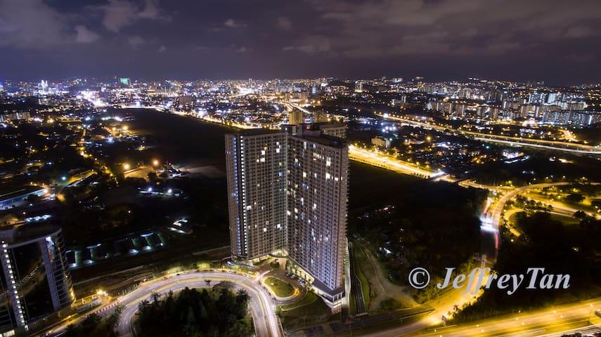 Desa Green service apartment - クアラルンプール - アパート