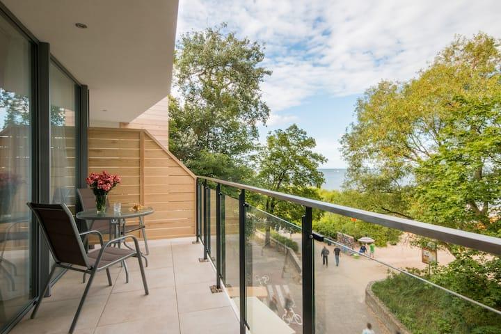 Tawerna Rybaki Pokój Deluxe z balkonem i widokiem